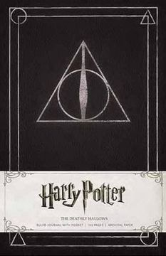 portada Harry Potter Deathly Hallows Hardcover Ruled Journal (Insights Journals) (libro en Inglés)