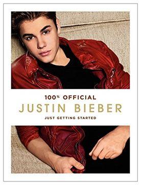 portada Justin Bieber: Just Getting Started - Harper Collins usa (libro en Inglés)
