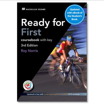 portada Ready for First 3rd Edition + key + Ebook Student's Pack (libro en Inglés)