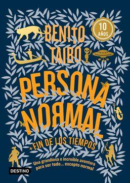 portada Persona Normal (Azul)