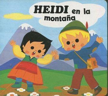 portada HEIDI EN LA MONTAÑA.
