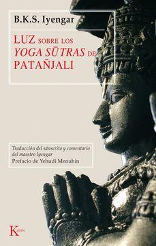 portada Luz Sobre los Yoga Sutras de Patañjali