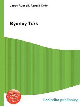 portada Byerley Turk (libro en Inglés)
