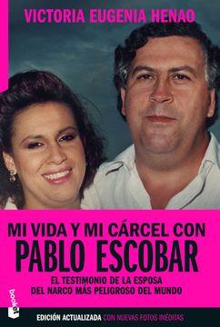 portada Mi Vida y mi Carcel con Pablo Escobar