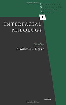 portada Interfacial Rheology: 1 (Progress in Colloid and Interface Science) (libro en Inglés)