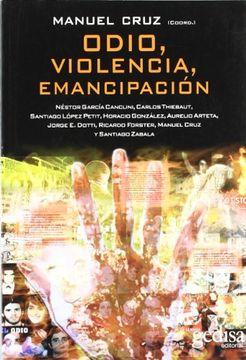 portada Odio, Violencia, Emancipación (Bip Argentina Sociologia)