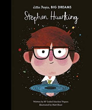 portada Stephen Hawking (Little People, big Dreams) (libro en inglés)