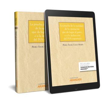 portada La Prueba de la Realidad de la Operación que da Lugar al Gasto, o a la Deducción del iva Soportado (Papel + E-Book)