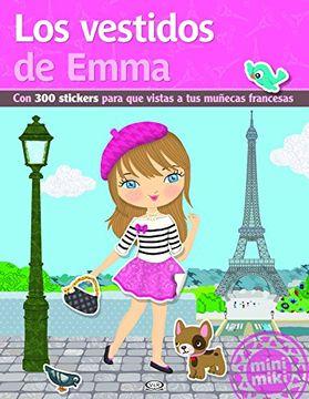 portada Los Vestidos de Emma - Stickers