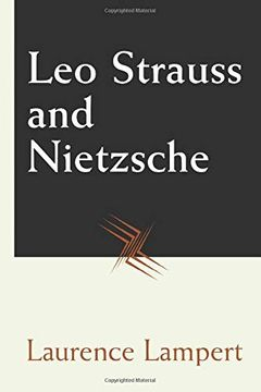 portada Leo Strauss and Nietzsche (libro en Inglés)