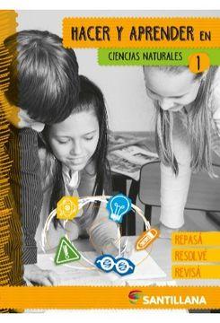 portada Hacer y Aprender en Ciencias Naturales 1 Santillana