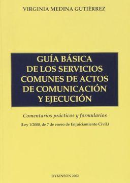 portada Guía básica de los servicios comunes