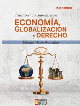 portada Principios Fundamentales de Economía, Globalización y Derecho