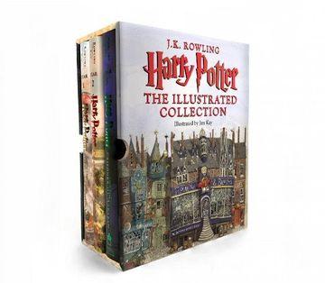 portada Harry Potter: The Illustrated Collection (libro en Inglés)