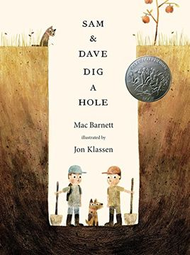 portada Sam & Dave dig a Hole (Irma s and James h Black Award for Excellence in Children's Literature (Awards)) (libro en Inglés)
