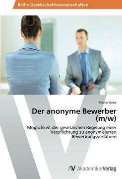 portada Der anonyme Bewerber (m/w)