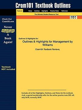 portada outlines & highlights for management by williams
