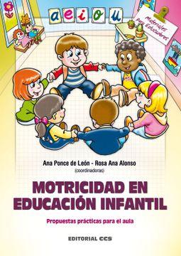 portada Motricidad en Educación Infantil: Propuestas Prácticas Para el Aula (Materiales Para Educadores)