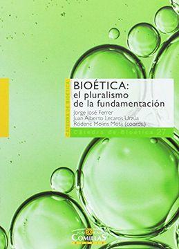portada Bioética: El Pluralismo de la Fundamentación
