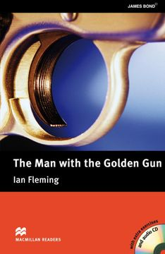 portada Macmillan Reader the man With the Golden gun + cd Pack Upper Intermediate Level (Macmillan Readers. Upper Intermediate) (libro en Inglés)