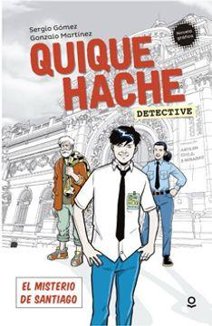 portada Quique Hache, Detective. El Misterio de Santiago