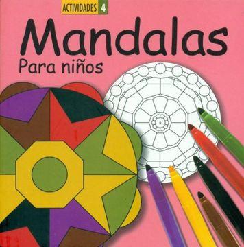 portada Mandalas Para Niños 4 (Libros Ilustrados)