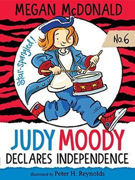 portada Judy Moody Declares Independence (libro en Inglés)