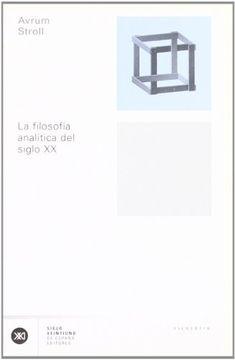 portada La filosofía analítica del siglo XX
