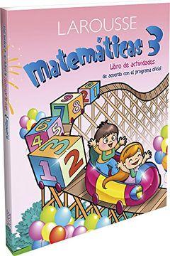 portada Preescolar Matemáticas 3