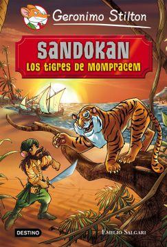 portada Sandokan. Los Tigres de Mompracem: Grandes Historias (Grandes Historias Stilton)