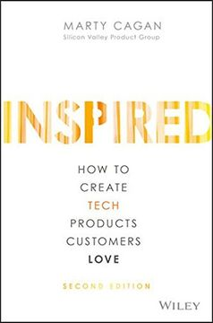 portada Inspired: How to Create Tech Products Customers Love (libro en Inglés)