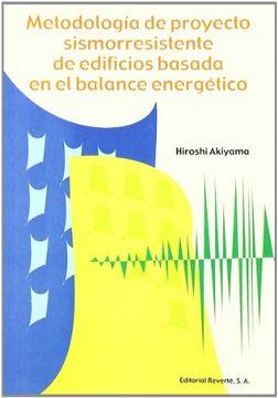 portada Metodología de Proyecto Sismorresistente de Edificios Basada en el Balance Energético