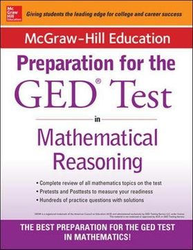 portada Mcgraw-Hill Education Strategies for the ged Test in Mathematical Reasoning (libro en Inglés)