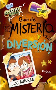 portada Gravity Falls. Guia de Misterio y Diversion