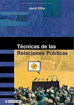 portada Técnicas de las Relaciones Públicas