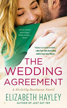portada The Wedding Agreement (Strictly Business) (libro en Inglés)