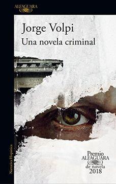 portada Novela Criminal, una