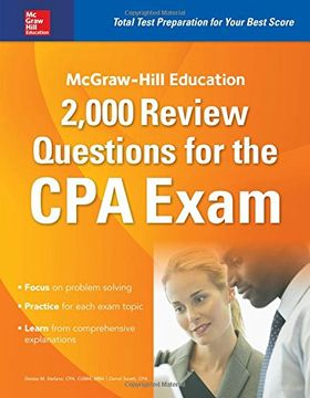 portada McGraw-Hill Education 2,000 Review Questions for the CPA Exam