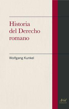 portada Historia del Derecho Romano