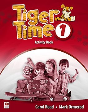 portada Tiger Time Level 1 Activity Book (libro en Inglés)