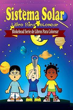 portada Sistema Solar Libro Para Colorear
