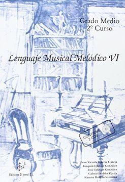 portada Lenguaje Musical Melodico vi (Grado Medio 2°Curso)