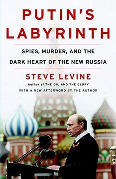 portada Laberinto de Putin: Espinos, Asesinato y Corazón Oscuro de la Nueva Rusia por Levine, Steve [Random House Trade Paperbacks, 2009] (Paperback) [Libro de Tapa Blanda] (libro en Inglés)