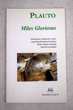 portada Miles gloriosus