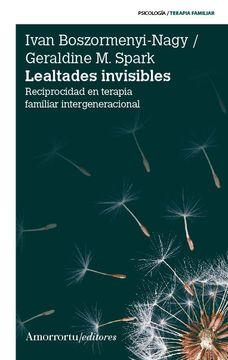 portada Lealtades Invisibles