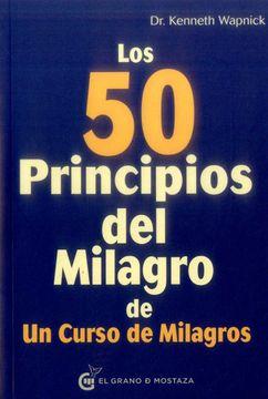 portada Los 50 Principios del Milagro de un Curso de Milagros