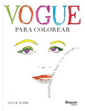 portada Vogue Para Colorear