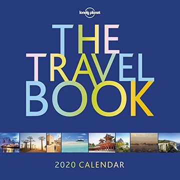 portada The Travel Book Calendar 2020 (Lonely Planet) (libro en Inglés)