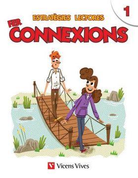 portada Estrategies Lectores: Fer Connexions 1 (Paperback) (libro en Catalán)