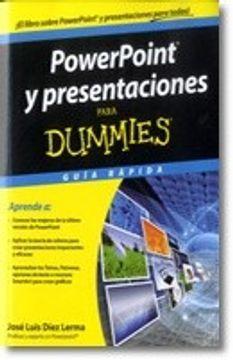 portada Powerpoint y Presentaciones Para Dummies